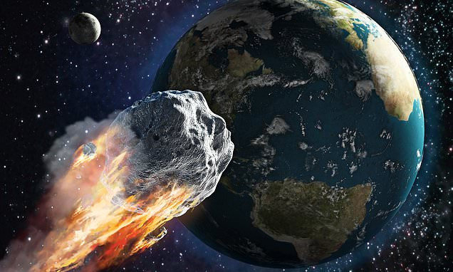 Almost 900 asteroids 'at risk of hitting Earth' in the next 100 years