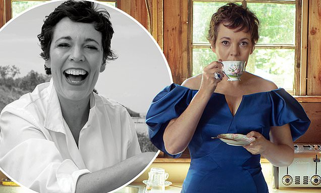 Olivia Colman is a Vogue coverstar in regal photoshoot