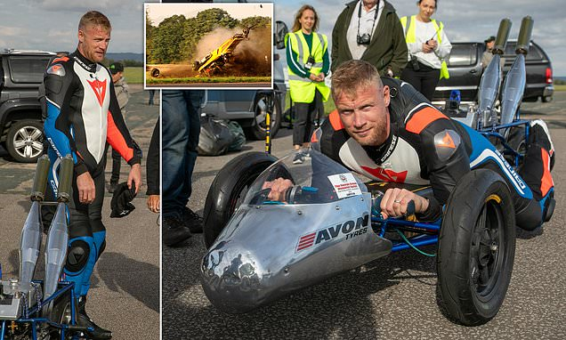 Top Gear host Freddie Flintoff 'escapes injury in high speed crash'