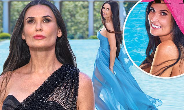 Demi Moore, 56, poses NUDE on the cover of a fashion magazine