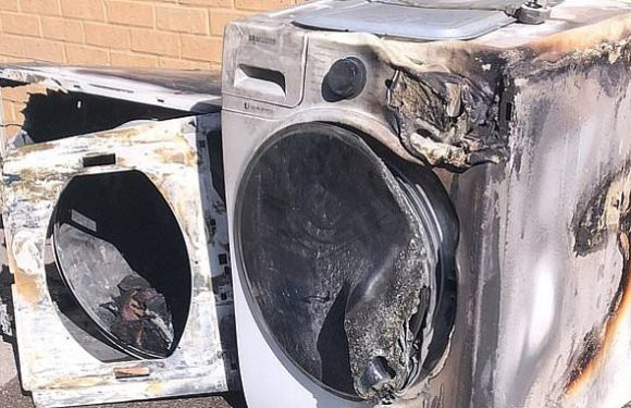 435,000 'fire-risk' tumble dryers are still in homes despite recall