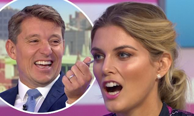 Ben Shephard tells Ashley James her 'face doesn't move'