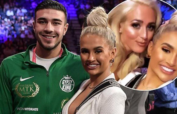 Molly-Mae Hague and Tommy Fury attend Tyson Fury's fight in Las Vegas