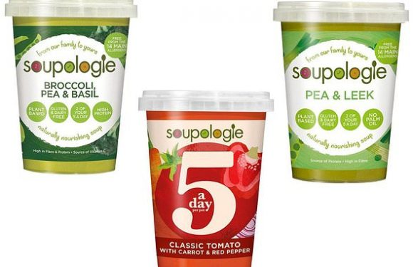 'Five-a-day' soup sold by Asda and Waitrose is pulled from shelves