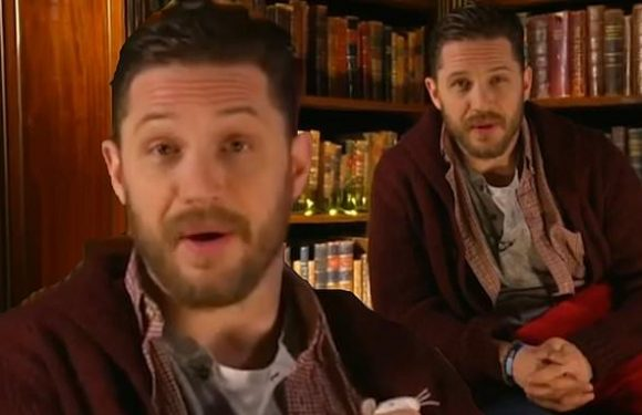 Tom Hardy sends fans wild as he returns to CBeebies