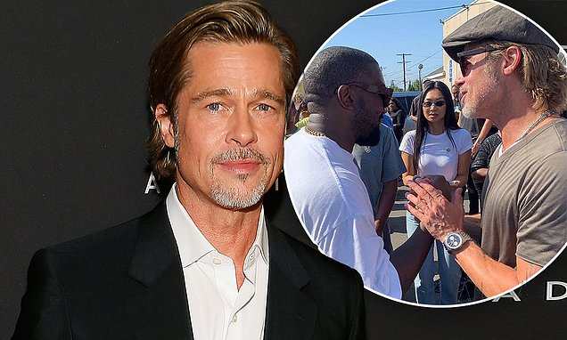 Brad Pitt said Kanye West is 'doing something really special'