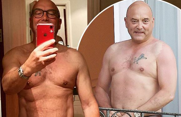 Gregg Wallace, 54, shows results of impressive three stone weight loss