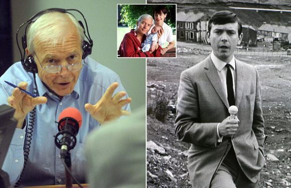 Today programme host John Humphrys hangs up his microphone