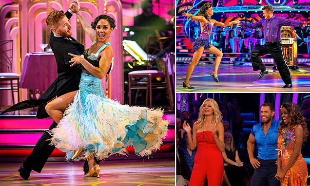 Strictly Come Dancing 2019:Stars take to the floor for the first time