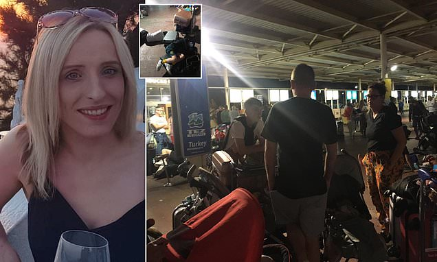 Brit woman stranded in Turkey and 'forced to sleep on ground'
