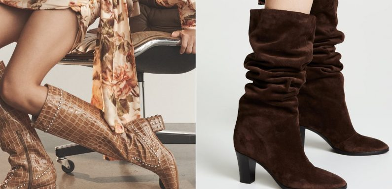 22 Hot Designer Boots You're About to See Everywhere This Fall and Winter