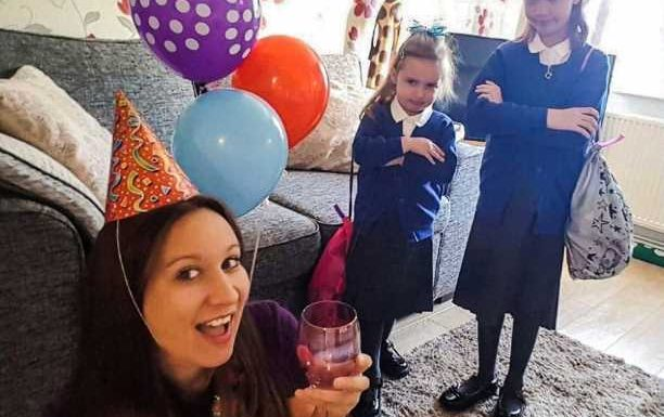 Mum throws herself a party to celebrate her kids going back to school – and they're furious – The Sun