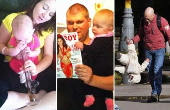 These mums and dads won't be winning parents of the year anytime soon
