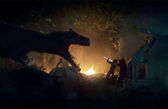 'Jurassic World: Battle at Big Rock' Short: Dinosaurs Attack In Camping Trip from Hell