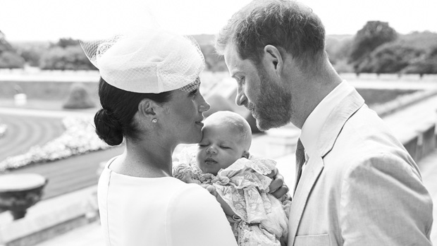 Meghan Markle Shares New Photo Of Archie As She Celebrates Prince Harry's 35th Birthday