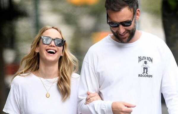 Jennifer Lawrence Looks Smitten Over Cooke Maroney During NYC Outing