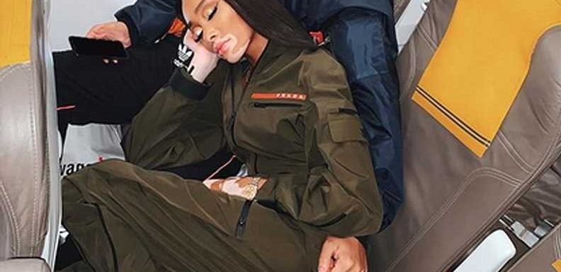 Winnie Harlow Claps Back After She's Accused of Complaining About Flying Coach