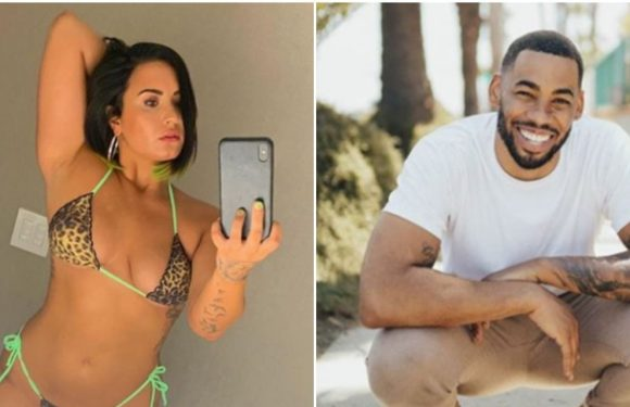 Mike Johnson Just Made It Super Clear He Likes Demi Lovato's Amid Those Dating Rumors