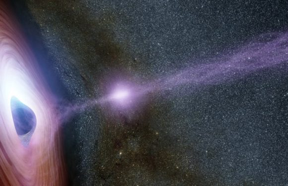 A black hole in the centre of our galaxy is the 'hungriest it's been for 24 years' and is shining 75 times brighter than usual