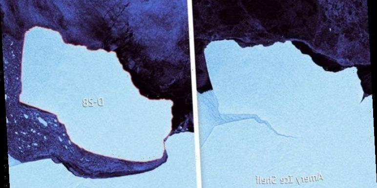 Antarctica: A London-sized iceberg just broke off and it 'poses a threat for ships'