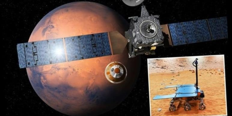 Mars life shock: UK-built Rover poised to answer key question after pioneering study