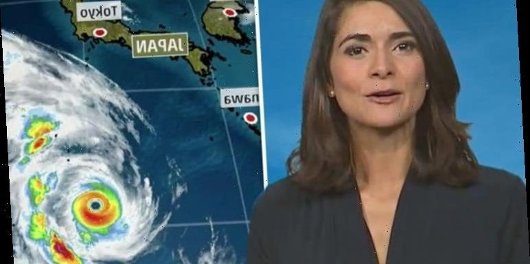 Lucy Verasamy: ITV weather star issues warning about typhoon amid Rugby World Cup