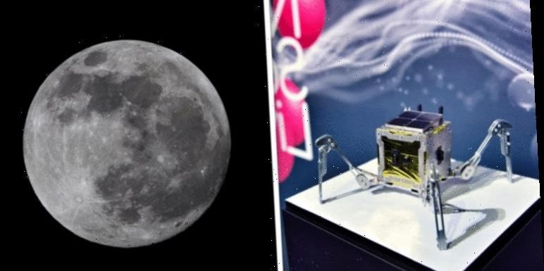BRITAIN IS GOING TO THE MOON! Space tech firm will have rover on lunar surface by 2021