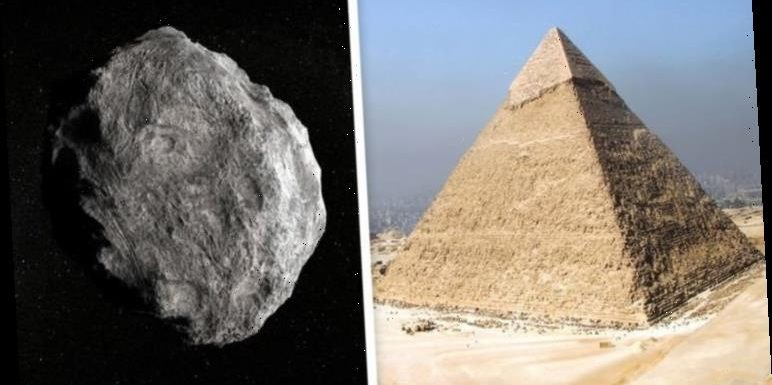 Asteroid alert: NASA tracks an asteroid seven times bigger than Pyramids on close approach
