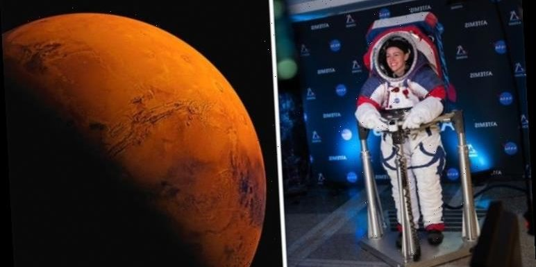 NASA news: Space agency unveils Mars spacesuit to 'keep them alive' in harsh -63C