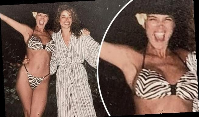 Kris Jenner is a bikini babe in flashback photo from 1987