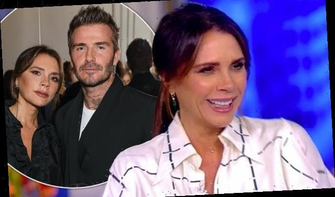 Victoria Beckham gushes she is 'lucky' to have David as her 'soulmate'