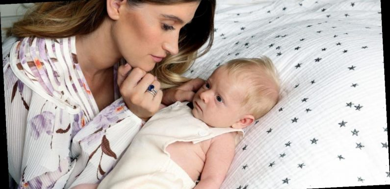 Charley Webb reveals emotional reason she stored son Ace's stem cells as fans thank her for educating them