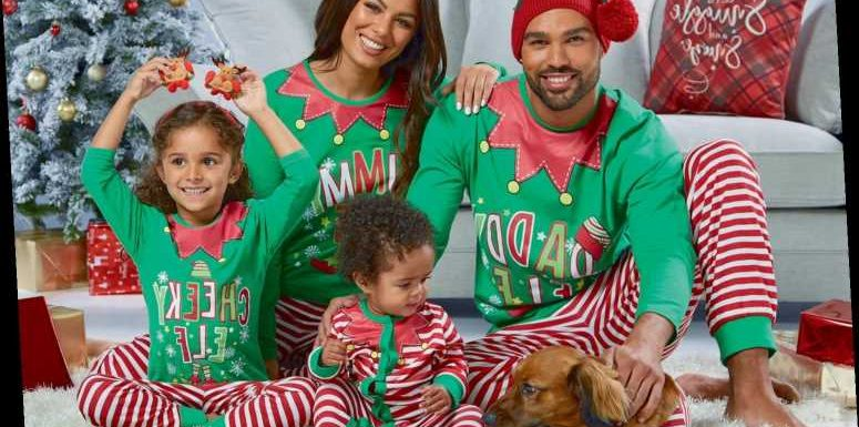 Studio is selling matching Christmas pyjamas for the whole family (including the dog) and prices start at just £4 – The Sun
