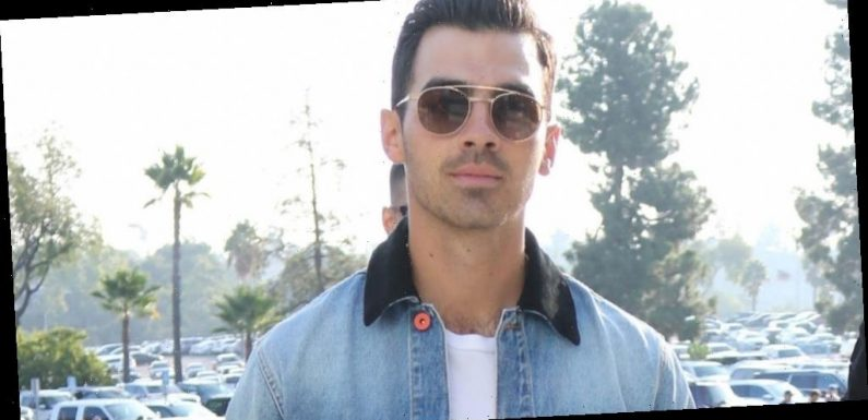 Joe Jonas Runs Into Diplo at Dodgers Baseball Game
