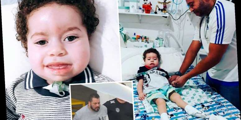 Ill boy, 2, dies after 'cruel dad blows £115,000 crowdfunding donations on brothels, luxury holidays and drugs' – The Sun