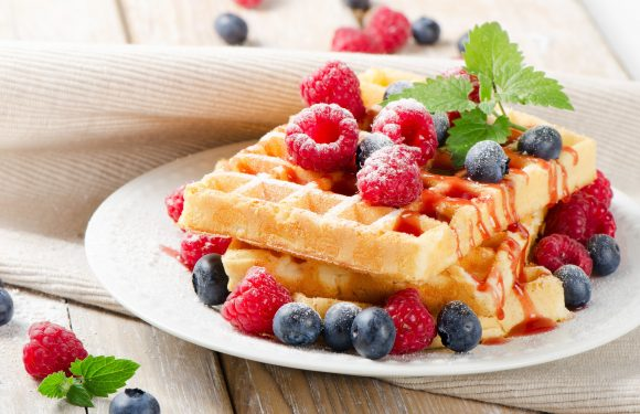 Waffle iron in your kitchen