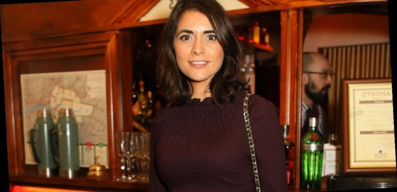 GMB babe Lucy Verasamy wows as she flaunts curves in skintight ensemble