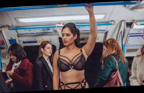Love Island's Malin Andersson celebrates curves in new lingerie campaign