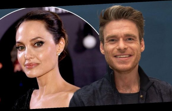 Angelina Jolie and Richard Madden evacuated from set after unexploded bomb found