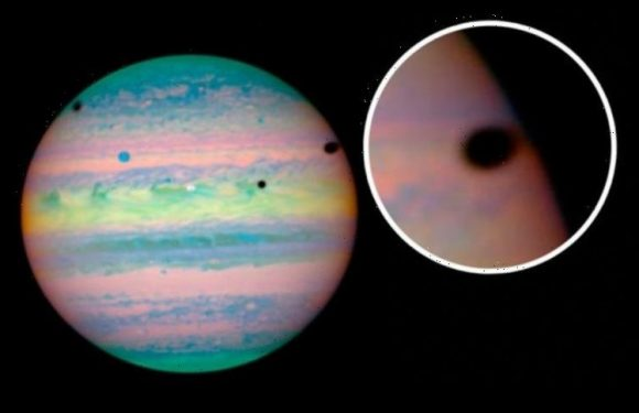 NASA mystery: What are these black holes on Jupiter? Hubble stuns with 'unique' picture