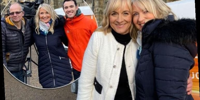 Carol Kirkwood: BBC weather star reveals Louise Minchin gift as she turns heads on set