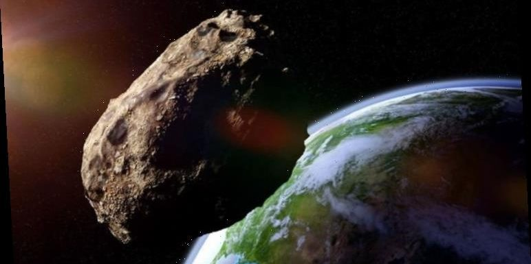 Asteroid horror: NASA spot huge space rock hurtle past Earth at incredible 61,956kph