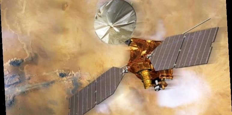 NASA news: Photos reveal global storms on Mars blast 50 MILE dust towers into the sky