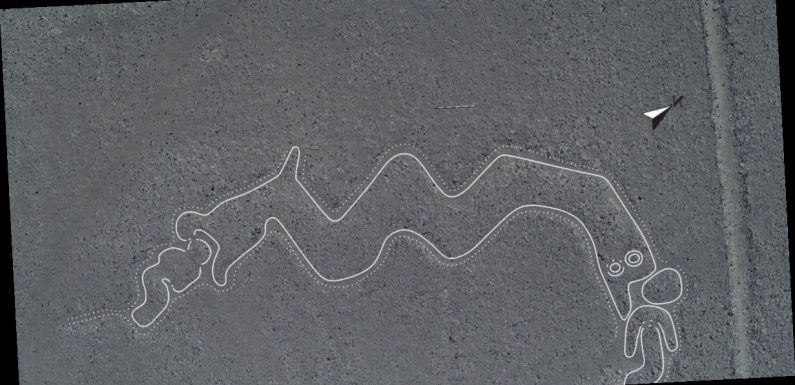 New Nazca lines showing mystery 'humanoids' and two-headed snakes found in Peru