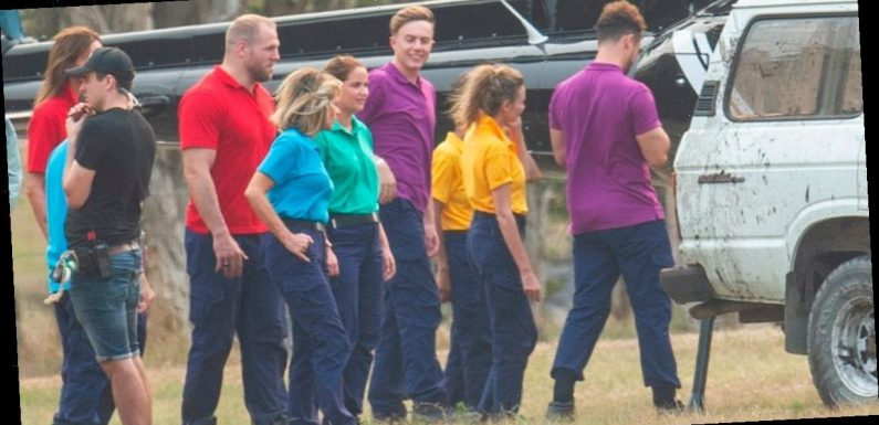 I'm A Celebrity stars hop into helicopter and canoes to enter camp in first look