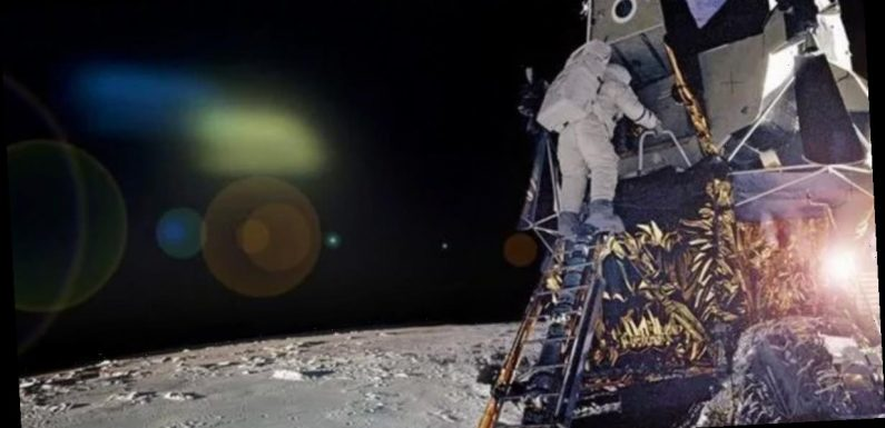 'Alien craft' spotted watching NASA Apollo 12 in unearthed moon photo