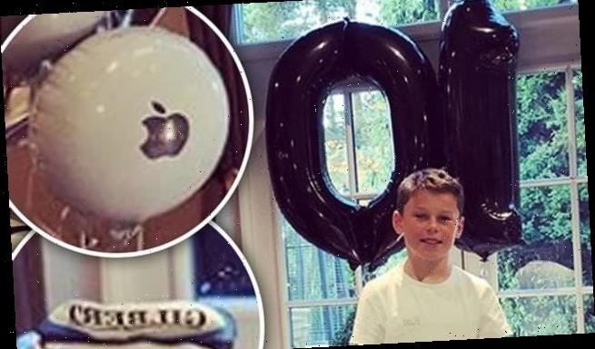 Coleen Rooney marks Kai's 10th birthday in typically spectacular style