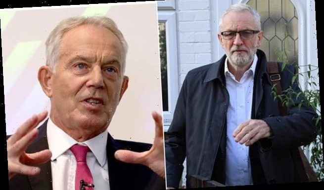 Tony Blair accuses Jeremy Corbyn of using Donald Trump-like 'populism'