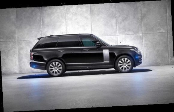 Range Rover latest bulletproof SUV can withstand pipe bombs and AR-15s