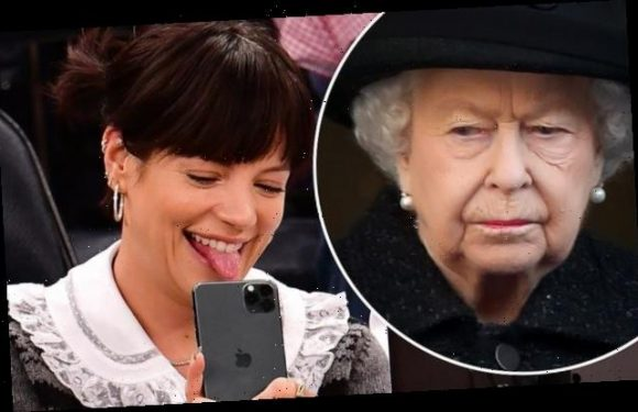 Lily Allen insists the nation should STOP singing Rule, Britannia
